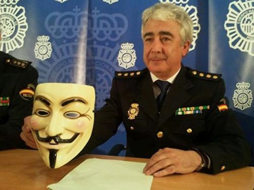 M'voyez, ceci est un masque de terroriste.
